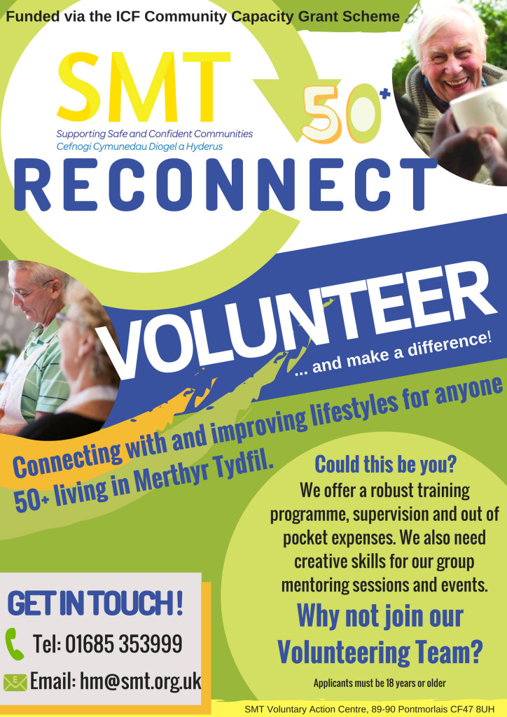 Reconnect JPG_SOCIAL_MEDIA_Volunteer Recruitment Poster 2018