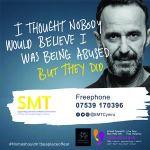 Safer Merthyr Campaign poster